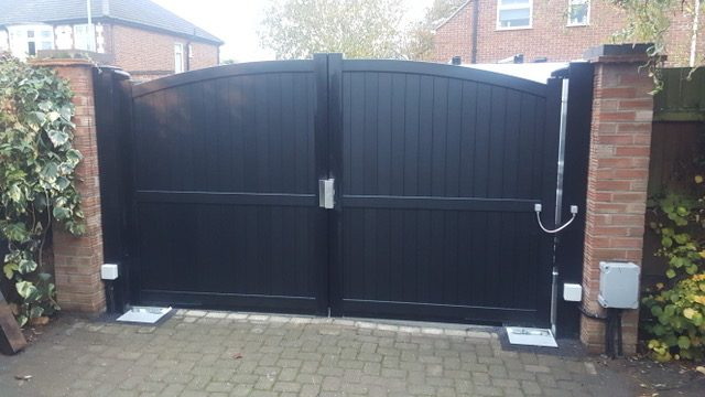 Aluminium Gates For Driveway Manual Swing Sliding